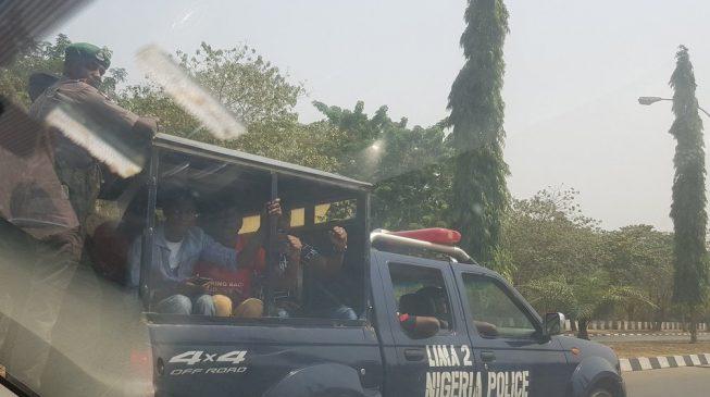 Police arrest BBOG members in Abuja
