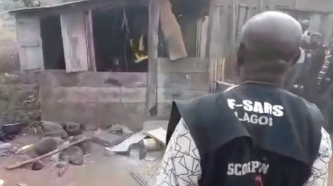 VIDEO: Police raid 'Badoo shrine' in Ijebu Ode