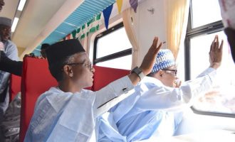 FACT CHECK: Whose 'handiwork' is Kaduna-Abuja rail? Obasanjo or Jonathan?