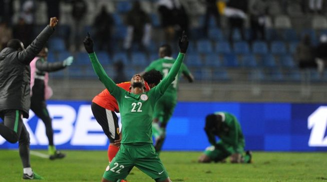 Okechukwu fires Super Eagles into CHAN final