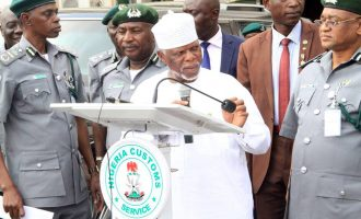 Customs CG threatens to sack any officer who fails college course thrice