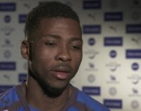 Iheanacho: I'm happy to be scoring… I want to win the FA Cup