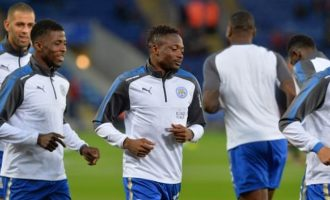 Keeping up with Nigerian players: Leicester duo still frozen out