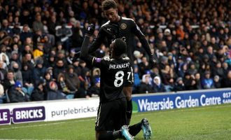 Another FA Cup brace for Iheanacho as Leicester secure emphatic victory