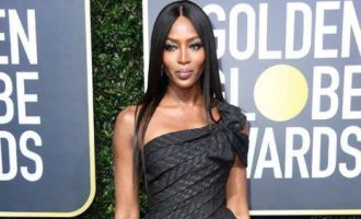 Naomi Campbell in Nigeria for GTBank Fashion Weekend