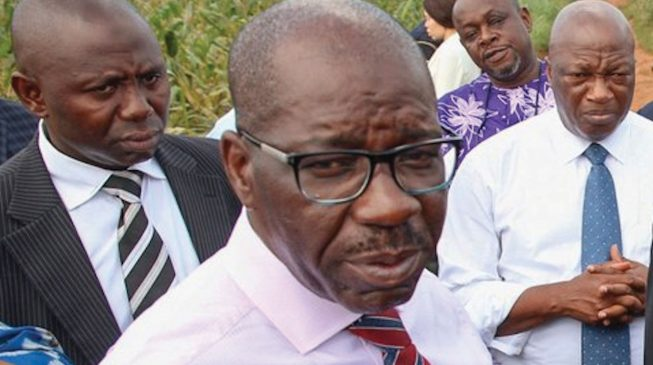 Oshiomhole taught me to fight godfathers - Obaseki