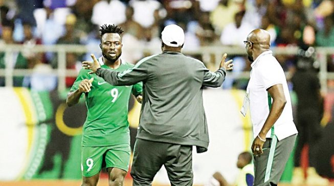 'He misses chances but scores important goals' — Eagles' coach backs Okpotu
