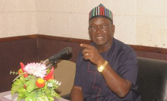 Ortom dissolves cabinet, retains 11 appointees
