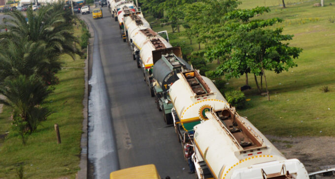 Lagos tanker drivers suspend strike