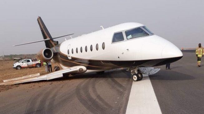 Abuja airport reopened after jet mishap