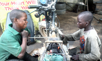 PHOTOS: School children involved in child labour