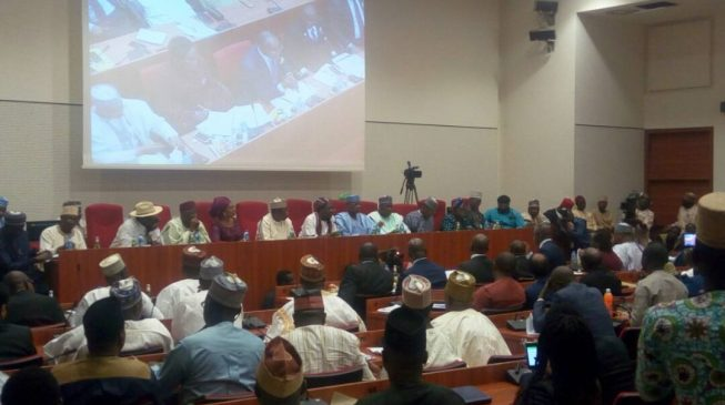 Drama as three people struggle for IPMAN chairmanship at senate hearing