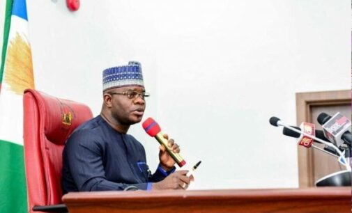 Melaye may have orchestrated burning of classrooms he built, says Yahaya Bello