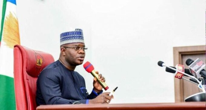 Yahaya Bello: I don't need vaccine — COVID-19 not our business in Kogi
