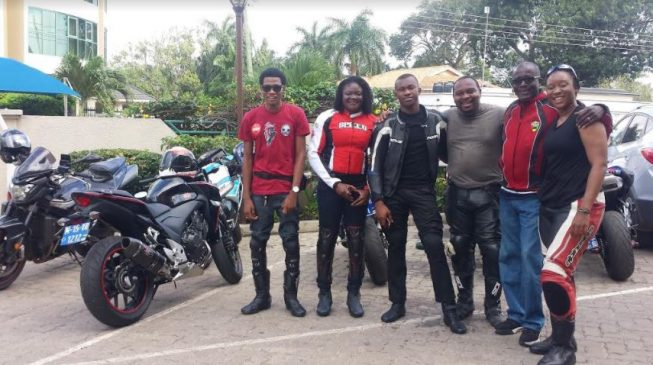 Nigerian superbike riders – not just speed and loud pipes