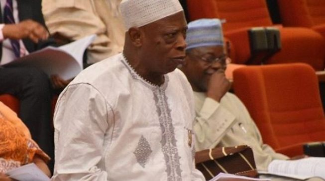 Senator Adamu:  I'm not plotting to remove Saraki… he's like my son
