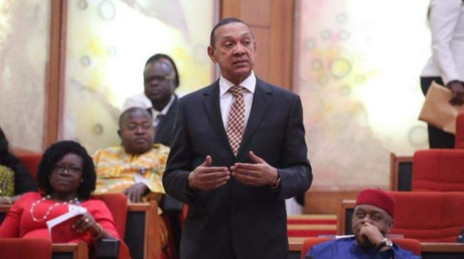 EXTRA: Ben Bruce says Daura helipad is the only project Buhari's government has completed