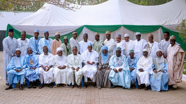 After spending hours with Buhari, Katsina elders decide to act on Obasanjo's letter