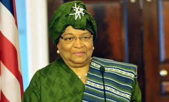 Liberia's Sirleaf wins Mo Ibrahim leadership award — first female recipient