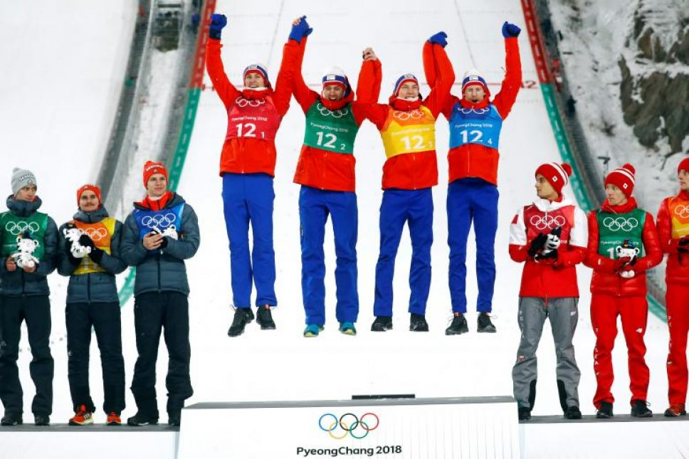 Gold medal winners at Winter Olympics