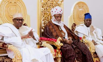 Adamawa monarch asks Buhari to ignore 'empty barrel' elite opposed to his reelection