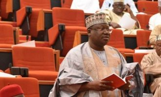 Kano senator asks colleagues to elect Lawan as next senate president