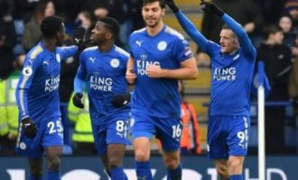 Ndidi, Iheanacho star as Leicester draw with Swansea