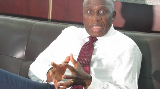 Lagos-Ibadan rail line will be operational before Feb 2019, says Amaechi