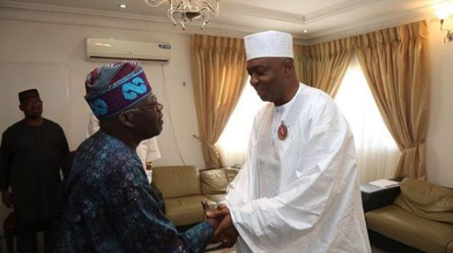 Saraki to Tinubu: You're angry because I opposed your Muslim-Muslim ticket ambition