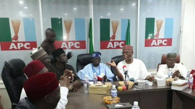 Oyegun replies Tinubu: You have my full support