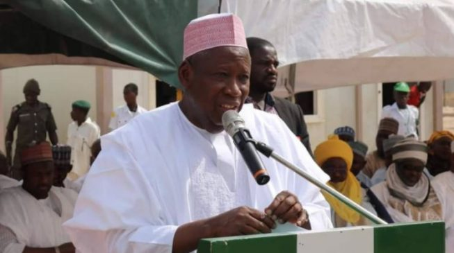 Ganduje: We'll sue Buhari if he doesn't seek re-election