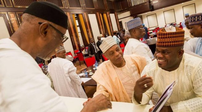 'Governors have confidence in Oyegun' — Yahaya Bello speaks on Tinubu's letter