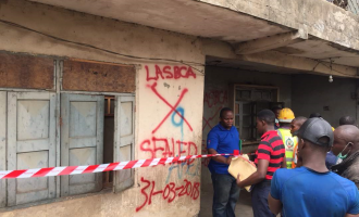 Two killed as building collapses in Lagos