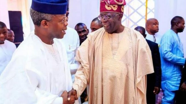 PHOTOS: Tinubu, Osinbajo lead bigwigs to second leg of Ajimobi-Ganduje wedding