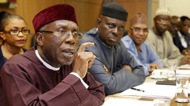 You got it all wrong, Audu Ogbeh
