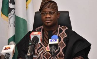 Yahaya Bello: Faleke cooking up excuses because people have rejected him