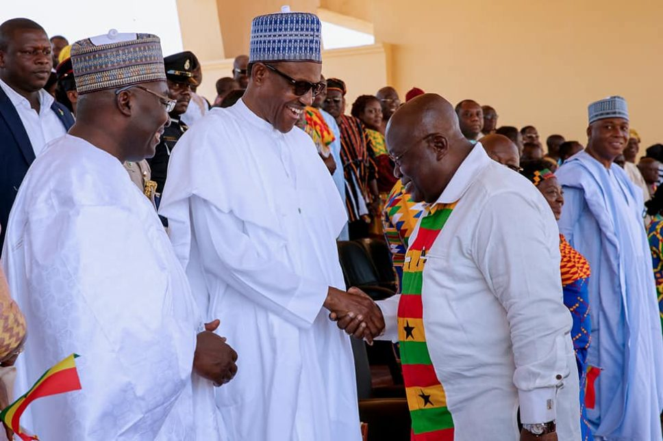 Buhari attends Ghana's 61st independence anniversary celebration