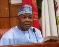 'You honoured my late father' — Saraki hails those who tried to resist 'Ile Arugbo' demolition
