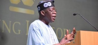 Tinubu to Buhari: Don't discard 'Next Level' promises after election victory
