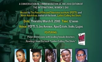 PEFTI, Niran Adedokun to celebrate female filmmakers