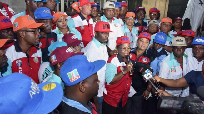 Lagos council chairmen endorse Ambode for second term