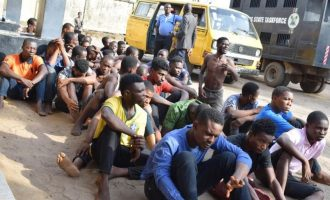 Lagos arriagns 70 suspected cultists