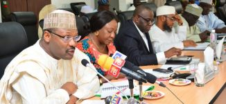 DEVELOPING: INEC holding emergency meeting hours to presidential poll