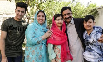 Malala visits hometown six years after getting shot