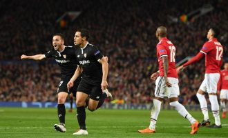 UCL: Manchester United crash out, Dzeko pulls Roma through to quarter final