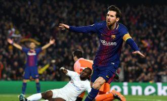 UCL: Messi brace annihilates Chelsea, Bayern advance