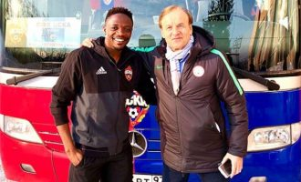 Musa credits Rohr for his success, says 'you inspired me to excel in football'