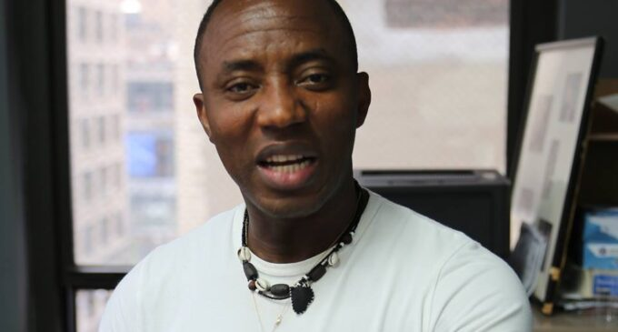 Sowore demands N500m from DSS for 'unlawful' detention