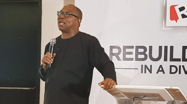 SDGs: Peter Obi asks African leaders to take a cue from China