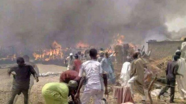 Fire outbreak kills six at Rann IDP camp